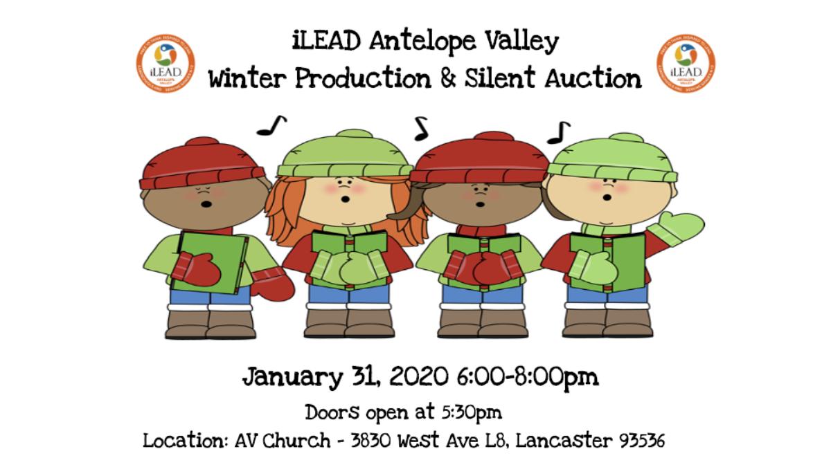 iLEAD AV Winter Production and Silent Auction