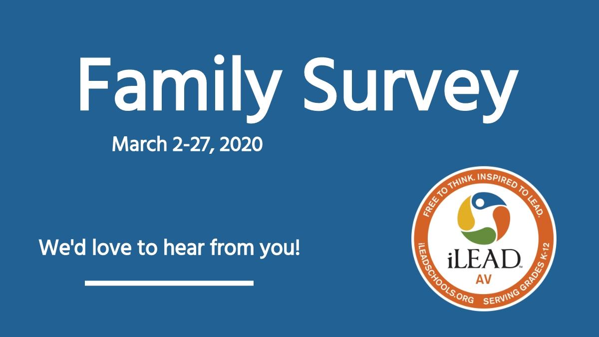 iLEAD AV Family Survey