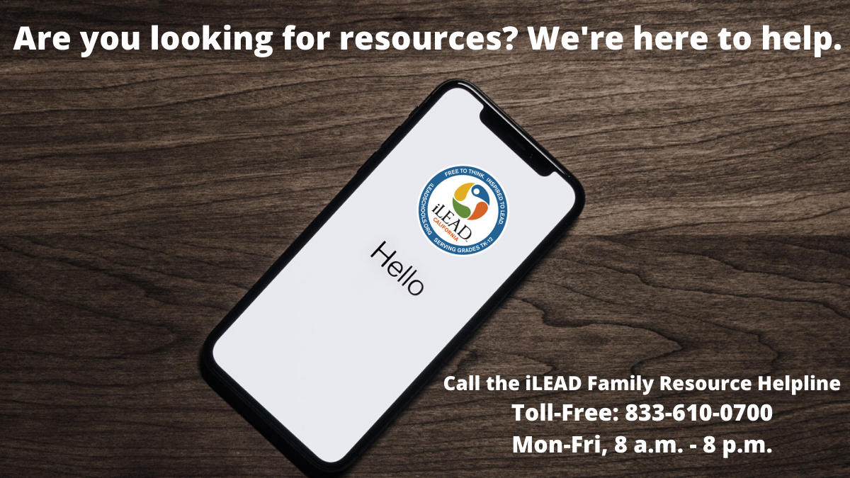 iLEAD Antelope Valley Family Resource Helpline