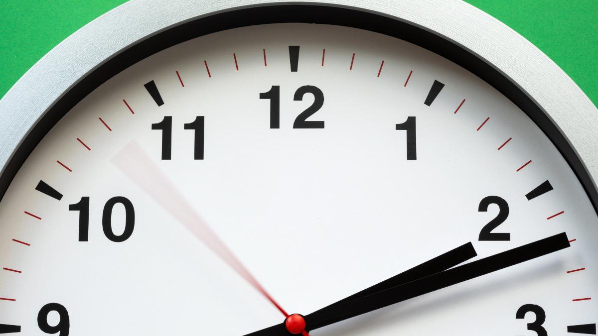 clock close-up