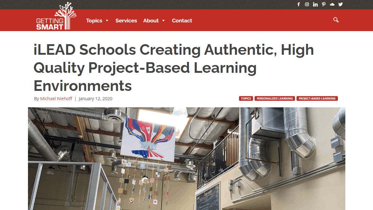 Project Based Learning iLEAD Antelope Valley