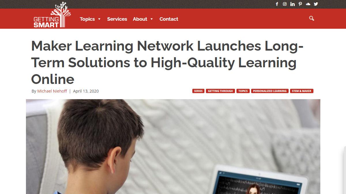 Maker Learning Network Learning Online