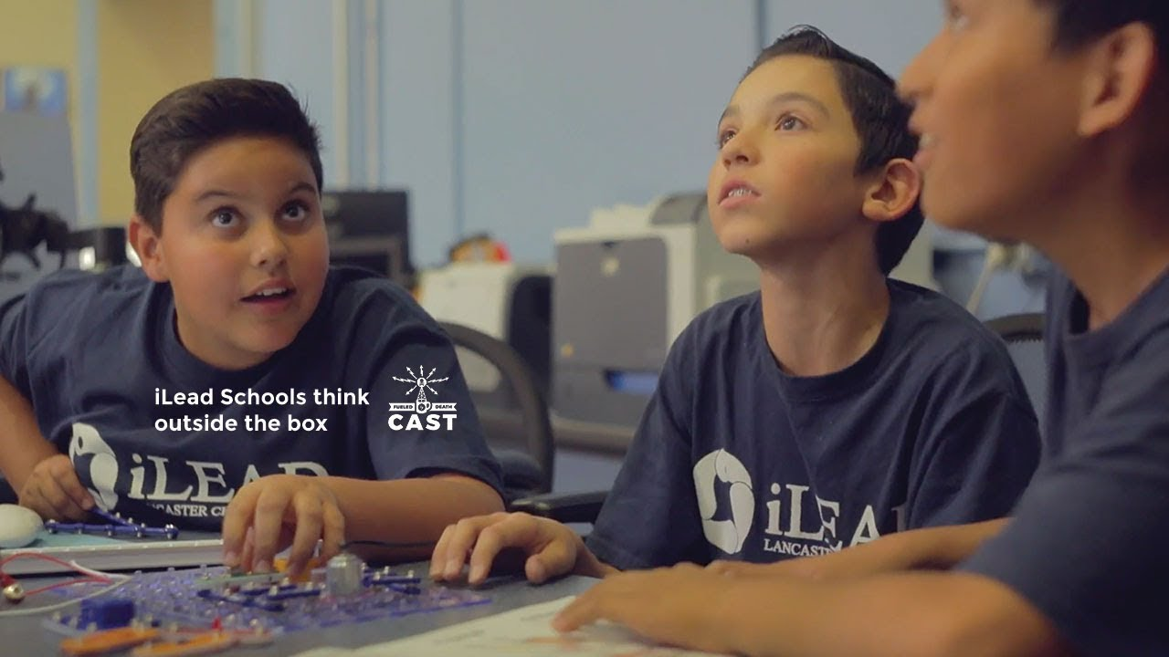 iLEAD Schools DreamUp to Space